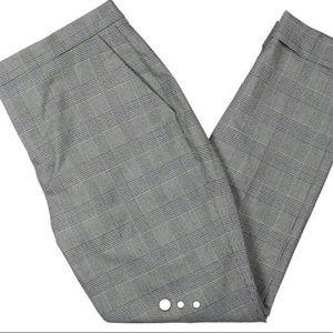 Pants - Lauren Ralph Lauren Womens Slim Glen Plaid Pants